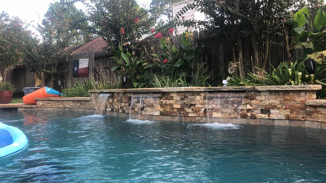 My Swimming Pool - Water is Nice and Cool - Houston