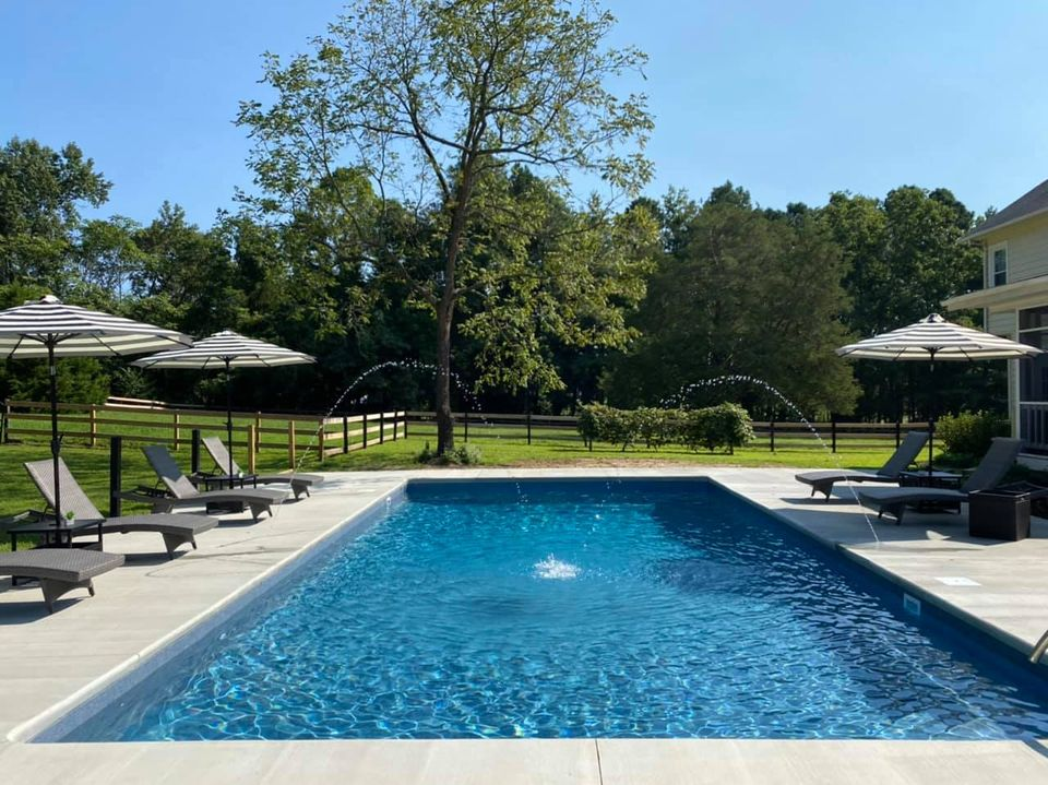 Swimming Pool Ideas : It was so worth the wait, headaches and of course the mes